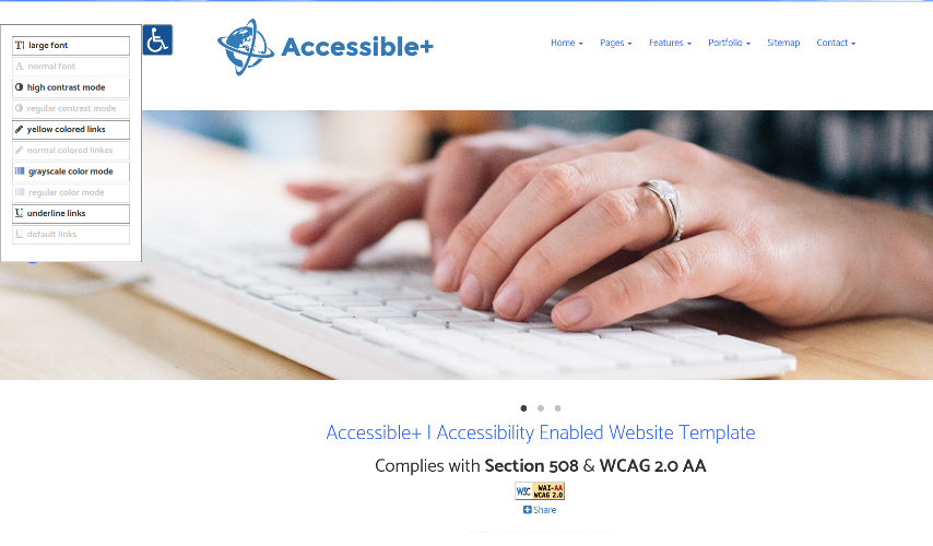 Accessible+ image